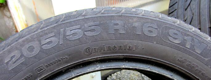 Prodam-4x-letni-flatrun-pneu-Continental-205-55-R16